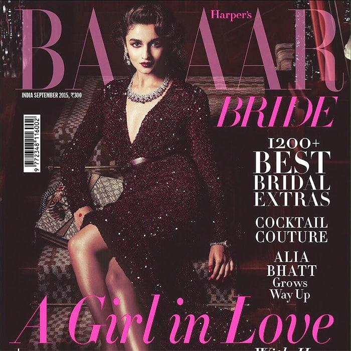 SHAANDAAR Alia :- The September issue!- instagram