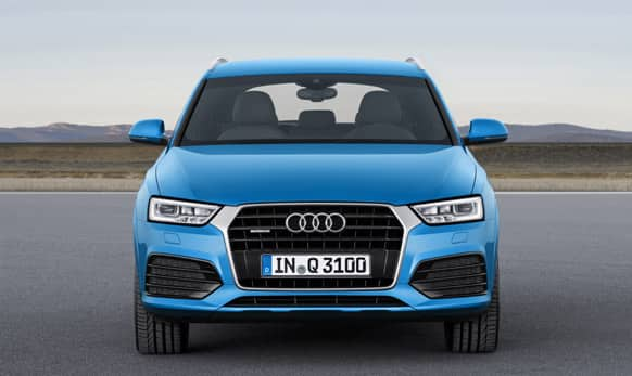 It has Hill Descent Control function to improve the new Audi Q3's off-roading prowess.