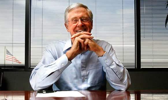 6. Charles Koch – USD 42.9 billion