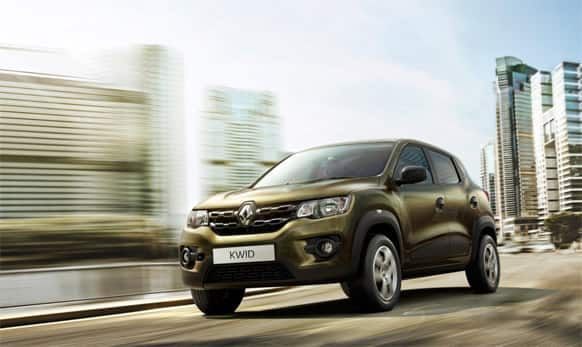 French auto major Renault has unveiled Kwid in India priced between Rs 3 lakh and Rs 4 lakh.
