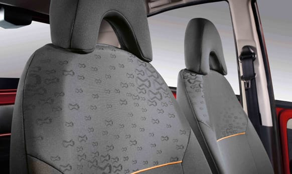 Interior space with 4% better shoulder room and 6% better legroom than competition.