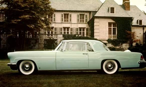 This undated photo provided by the Ford Motor Co. shows the 1956 Lincoln Continental Mk II.
