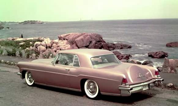 This undated photo provided by the Ford Motor Co. shows the 1957 Lincoln Continental Mk II.