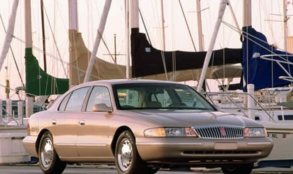 This undated photo provided by the Ford Motor Co. shows the 1997 Lincoln Continental.