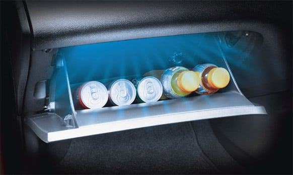 Glove box cooling. (Pic courtesy: http://www.hyundai.com/in)
