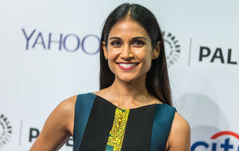 Melanie Chandra attends the at 2015 PaleyFest Fall TV Previews at The Paley Center for Media in Beverly Hills, Calif.