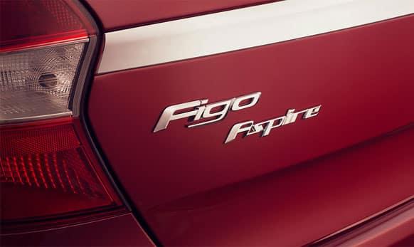 Ford Figo Aspire has signature styling.