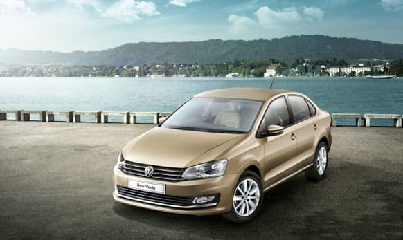 German auto major Volkswagen has launched the new version of its mid-sized sedan Vento.