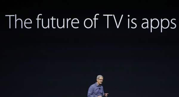 Apple TV comes with ''apps'', big iPad aimed at business