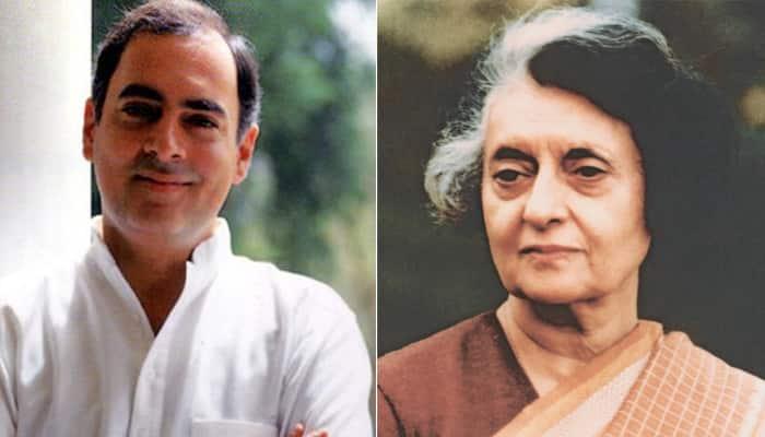 Modi sarkar discontinues stamps of Rajiv, Indira Gandhi