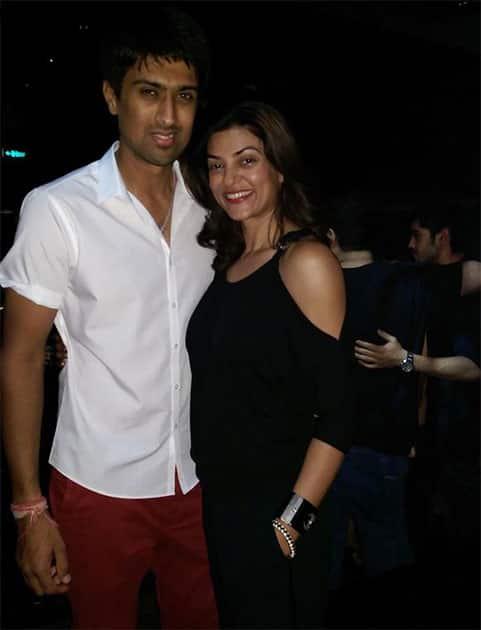 #throwback#ipl7#mumbai#myfav#gourgeous#sushmitasen Twitter@thesushmitasen