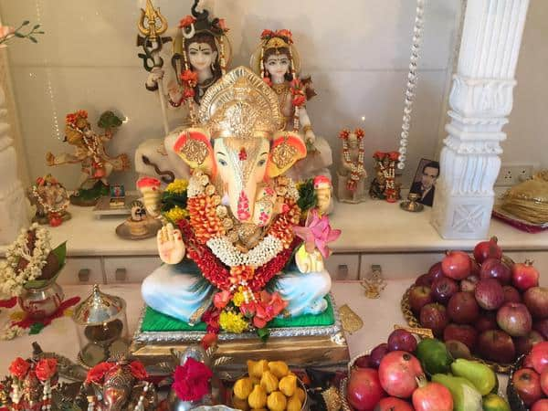 Blessings from our home to you and your families. Jai Ganesh Deva!  Twitter@RonitBoseRoy