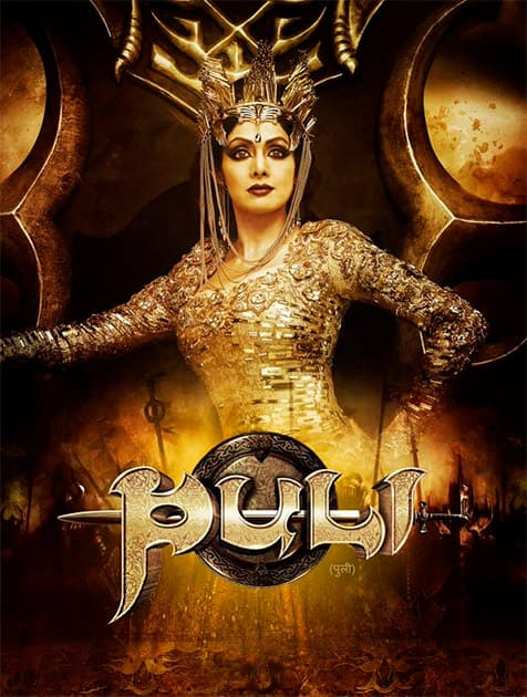 Sharing the look of PULI. A fun filled fantasy! Pull yourself with your kids & friends to the nearest theater.Oct 1st  Twiter@SrideviBKapoor