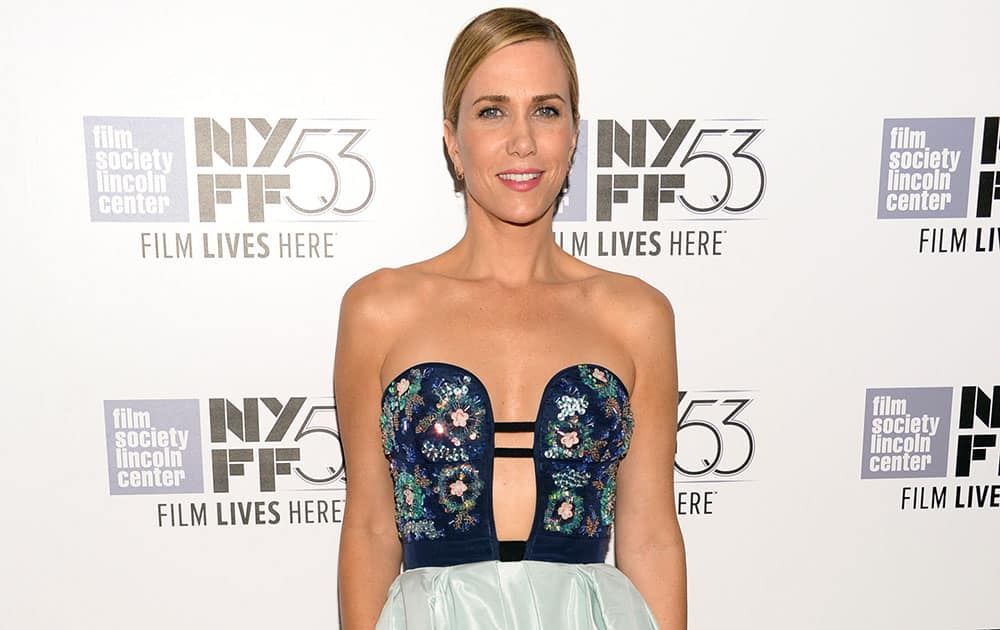 Actress Kristen Wiig attends a special screening of