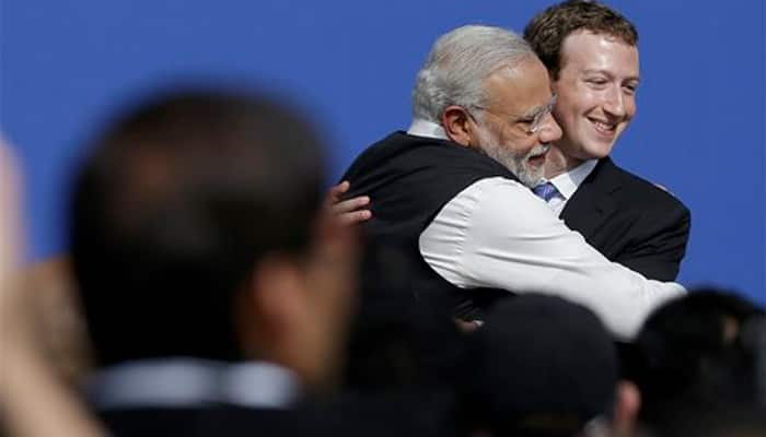 When PM Narendra Modi pulled Mark Zuckerberg aside - Watch