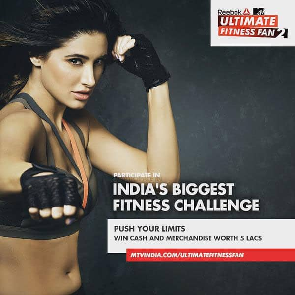 Did you hear that @reebokindia is looking for the #UltimateFitnessFan? Register & show them that you are the one! - Twitter@NargisFakhri