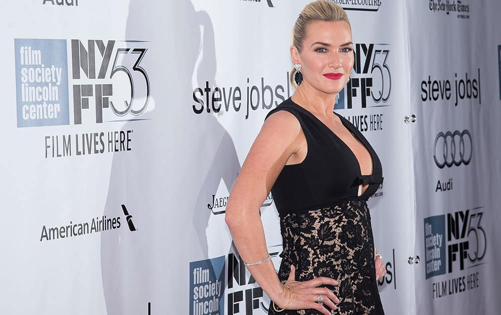 Kate Winslet attends the New York Film Festival gala presentation of