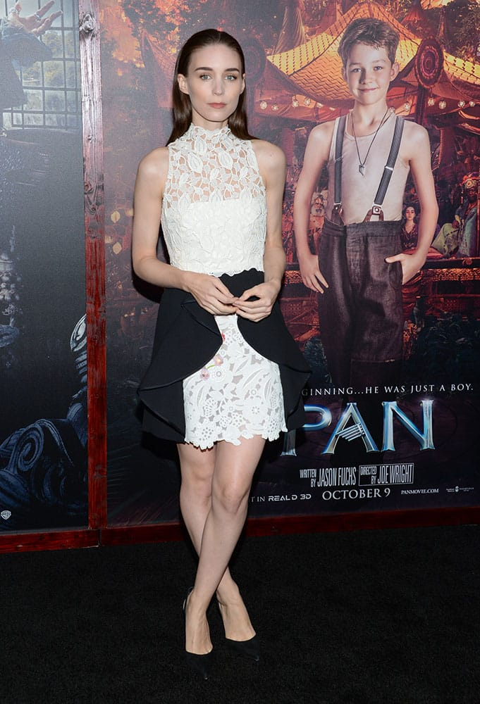 Actress Rooney Mara attends the premiere of