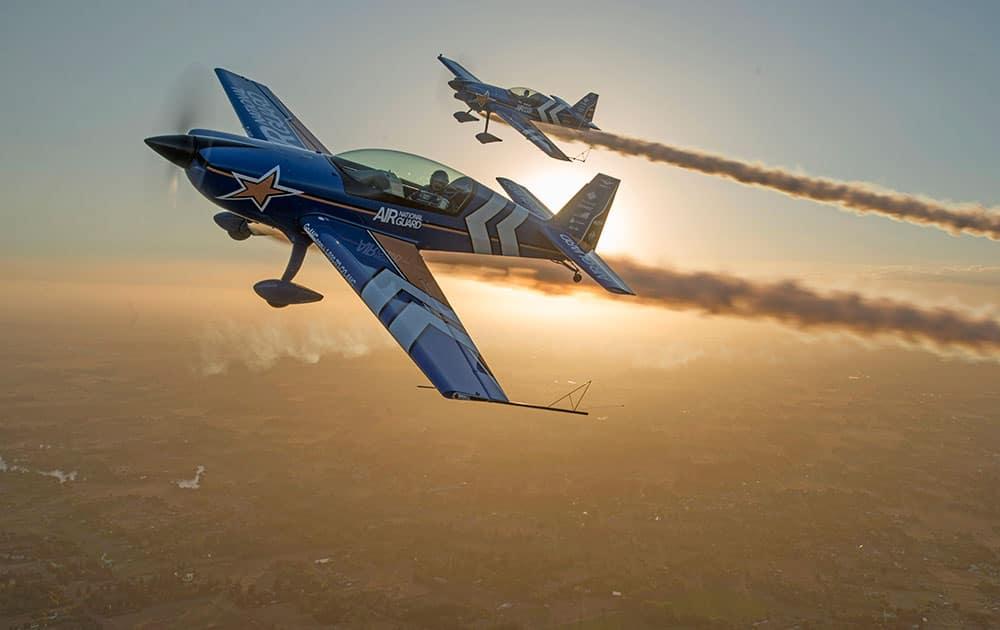 Air National Guard takes to the skies at the California Capital Airshow.