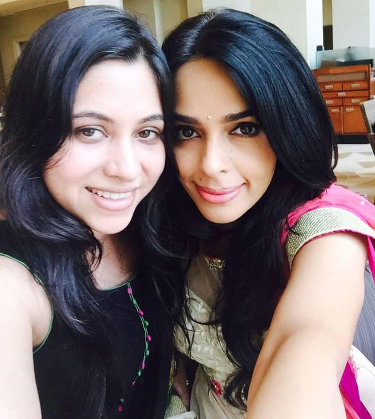 Mallika Sherawat :- Love my Sweety pie sister in law:) #lovemyfamily -twitter