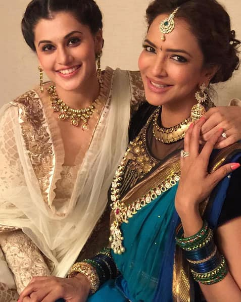 Lots and lots of love, health and life to the one woman army and one of the strongest influence in my life @hrhlaki - Instagram@taapsee