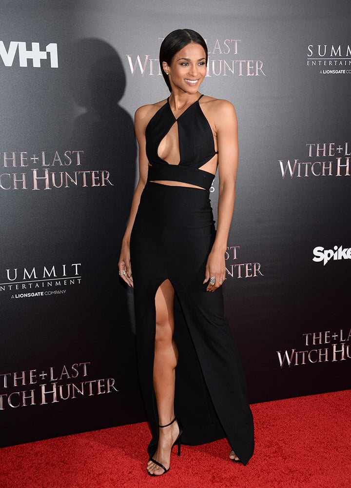 Actress Ciara attends a special screening of