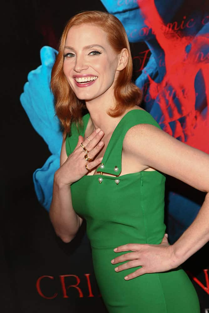 Jessica Chastain attends the premiere of