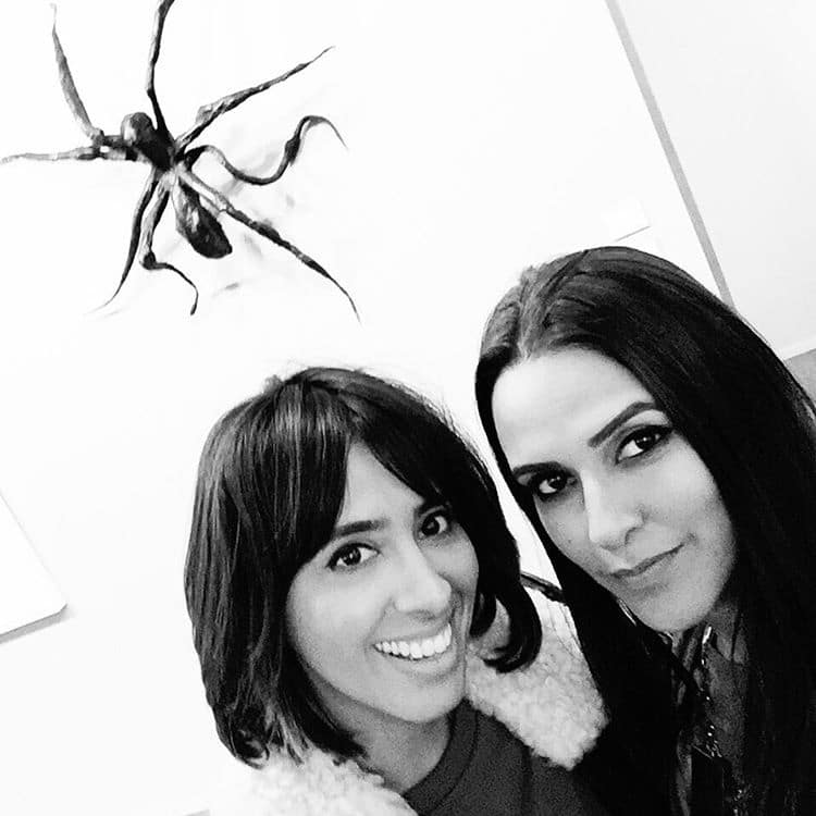 Neha Dhupia :- #friezeartfair you left me spellbound and @bibi_london_official #marni you did nt give me a chance to talk  -instagram