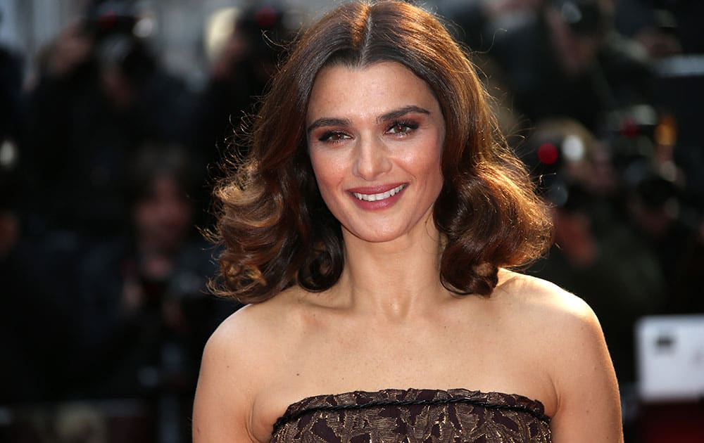 Rachel Weisz poses for photographers upon arrival at the premiere of the film 'Youth', as part of the London film festival in London.