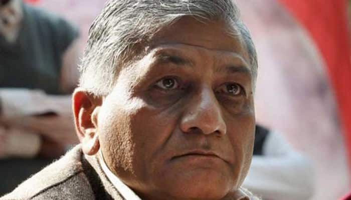 Dalit killings: Union Minister VK Singh stirs row with 'dog' remark, clarifies