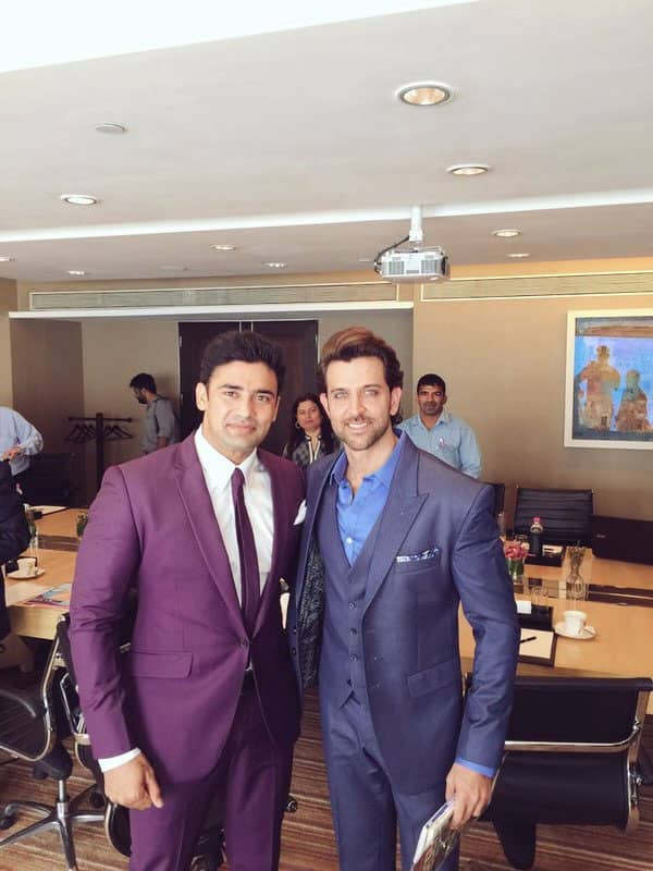 #RightNow at press conference with @iHrithik for #HRXHeroes @DiscoveryIN - Twitter@Sangram_Sanjeet