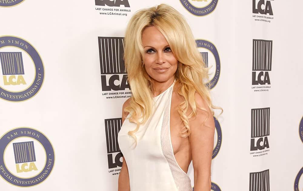 Pamela Anderson, recipient of the