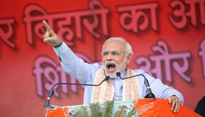 Bihar polls: PM Modi attacks 'grand alliance', likens it to '3 Idiots'