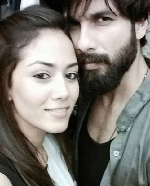 shahidkapoorDinner time with Mrs kapoor. Instagram/shahidkapoor