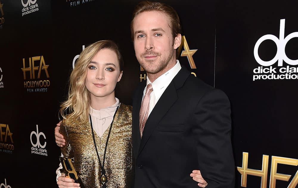Saoirse Ronan, winner of the new Hollywood award for