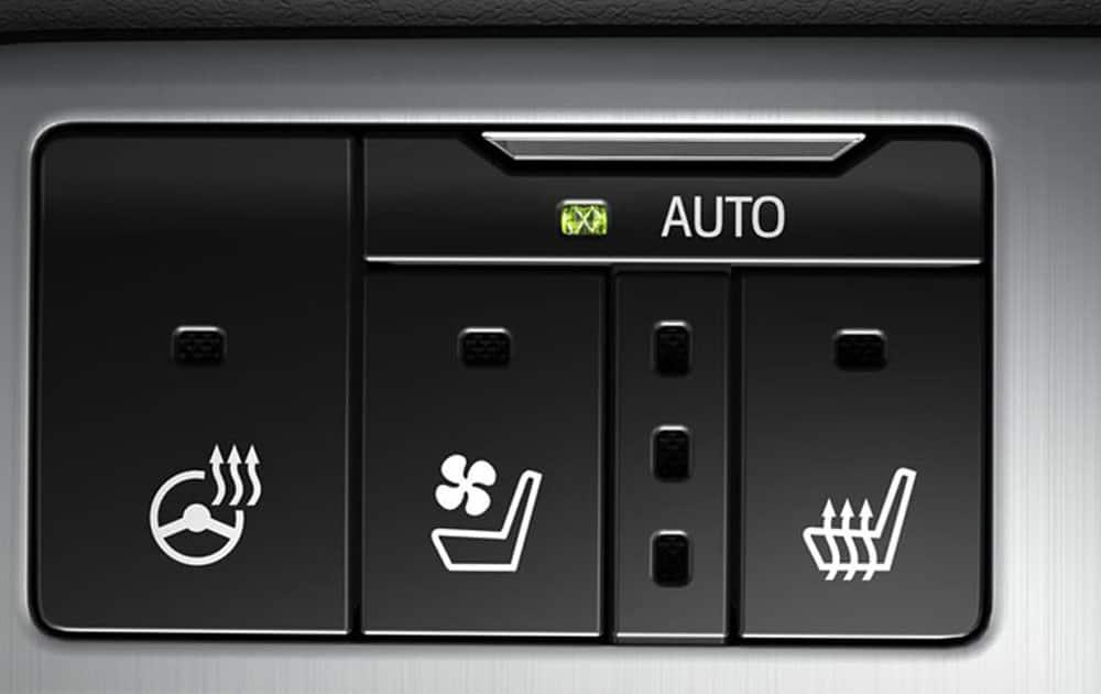 Seat AC & heater + Steering Wheel heater