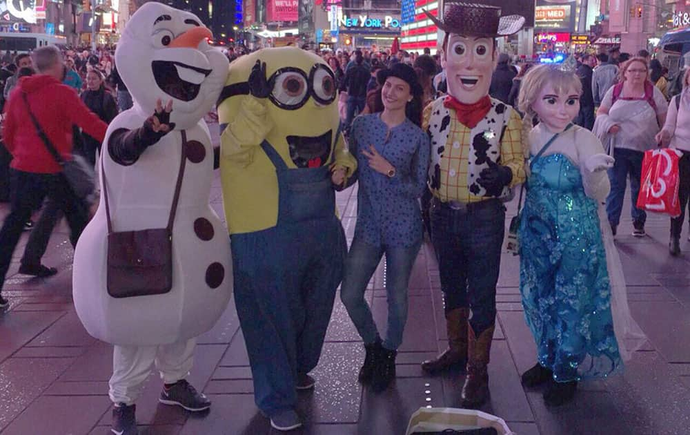 Elli Avram ‏:- New York diaries part 3. #WoopWoop #NewYork -twitter