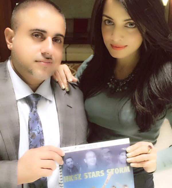 Happy that I can join my dear friend/visionary Nasir @hksz_tv on his innovative journey to promote grassroot cricket - Twitter‏@CelinaJaitly