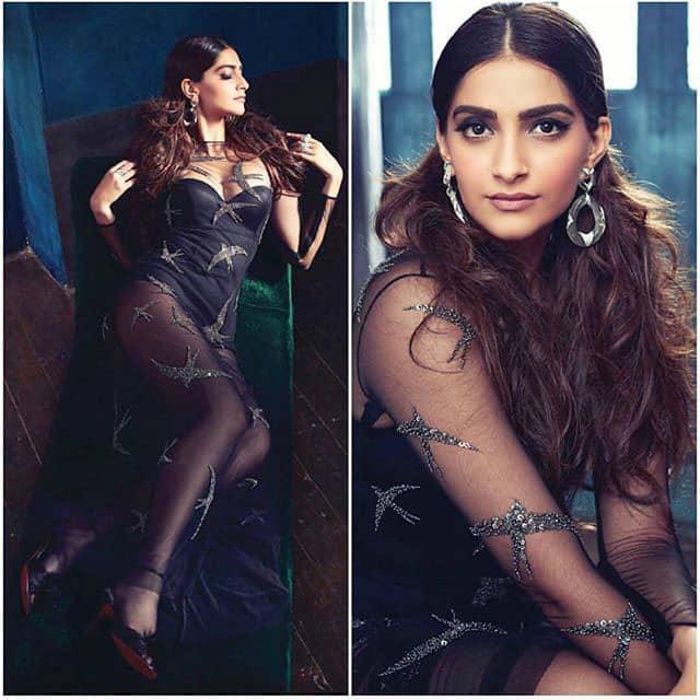 #sonamkapoor is bold and beautiful in her latest photoshoot for #filmfare magazine. INSTAB… -twitter@sonamakapoor
