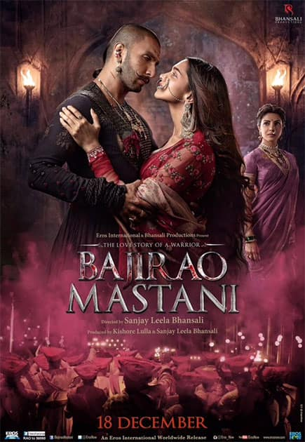 THE EPIC LOVE STORY ...  #BajiraoMastani  Twitter@RanveerOfficial