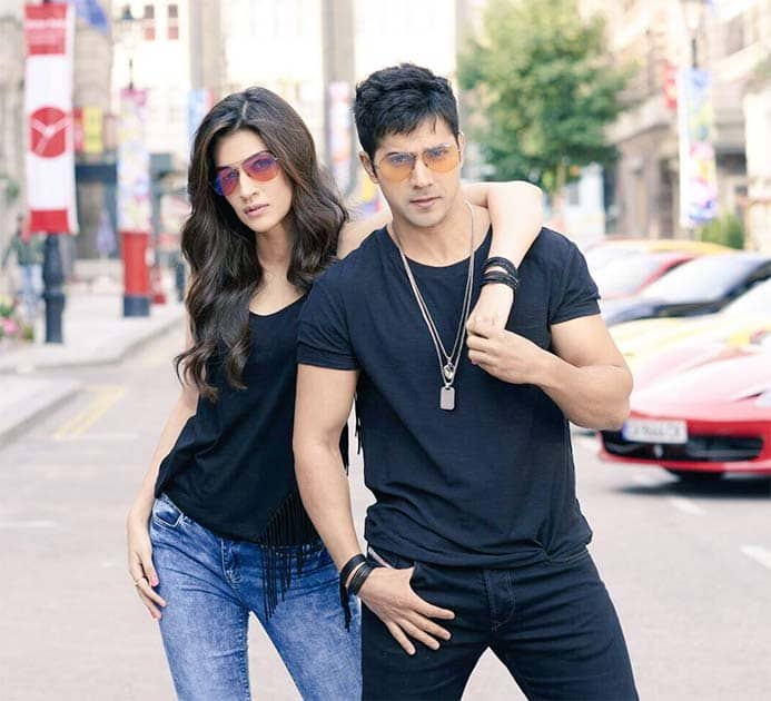 Are u ready for #ManmaEmotion guys?? Coming tomorrow!! Twitter@kritisanon