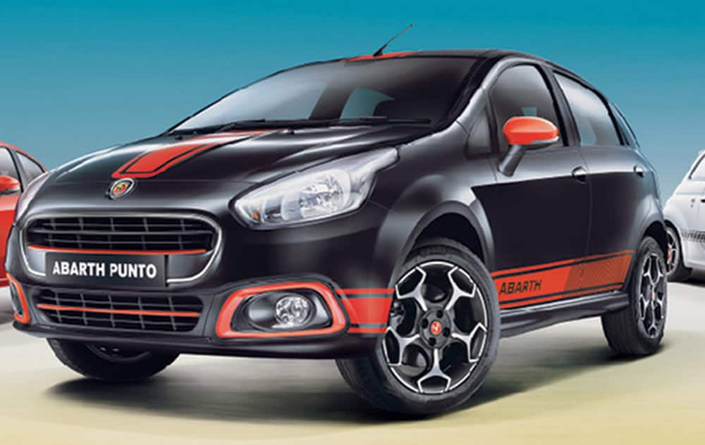 Fiat Punto Abarth is priced at Rs 9.95 lakh (ex-showroom, Delhi). Abarth Punto is powered by a 1.4 litre petrol engine and delivers power of 145 hp.