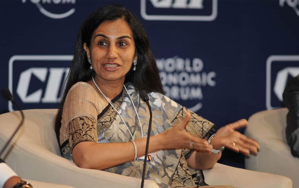 2. Chanda Kochhar (ICICI Bank MD and CEO)
