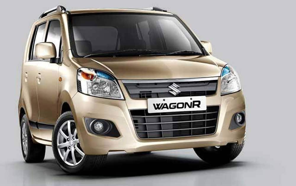 Maruti WagonR was at No.3 with 13,986 units.