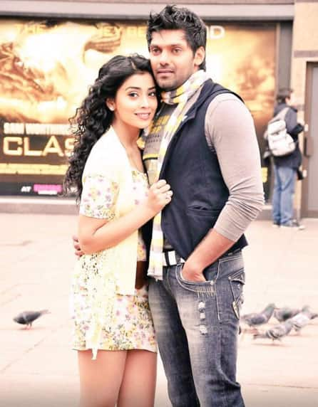 Happy birthday to the most honest simple caring and loving human being! @arya_offl. Twitter@shriya1109
