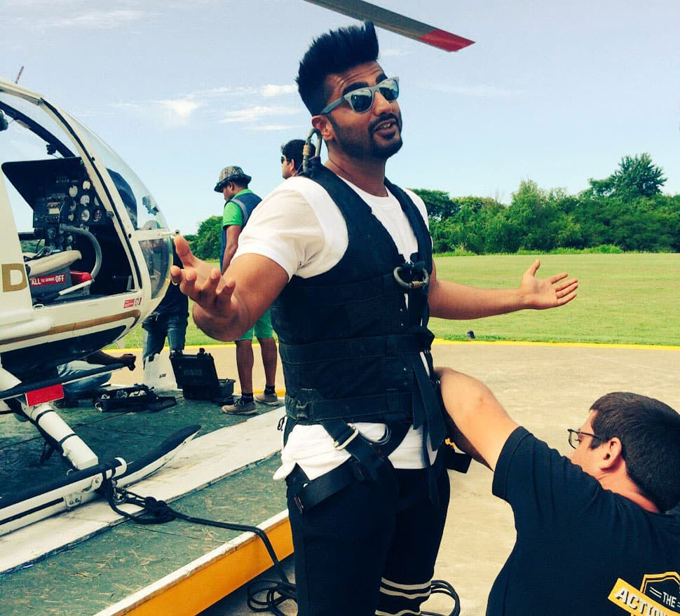 Arjun Kapoor :- Strap in and get ready for the ride back home...Argentina until we meet again gracias fr everything...#homebound !!! -twitter
