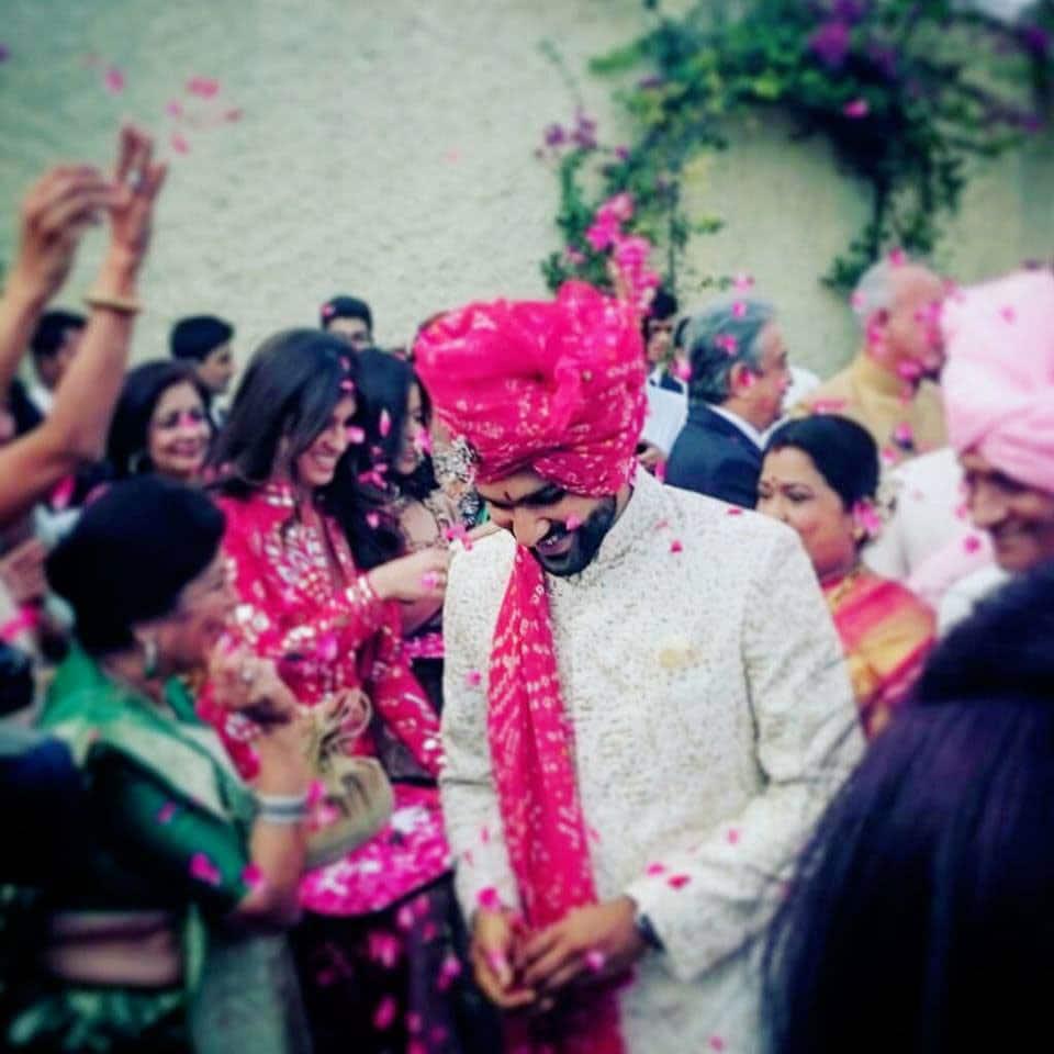 Rohit Sharma :- Mr. & Mrs. Sharma #HitmanKiShaadi -fb