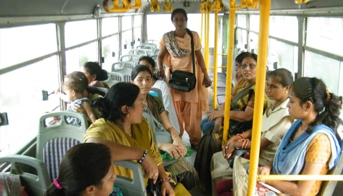 Women's only bus service launched in Gurgaon for safe, crime-free travelling