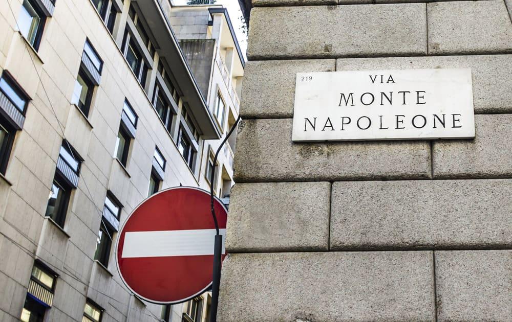 5. Via Montenapoleone, Milan