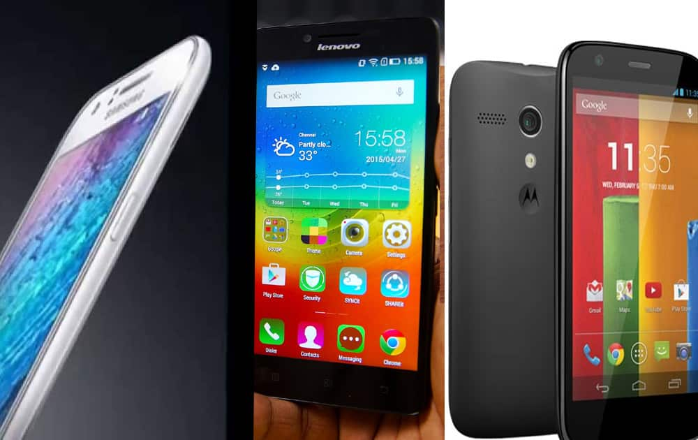Google has released the annual Top 10 most searched mobile phones in India in 2015. Here's the list.
